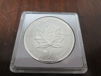 1 Unze Silber 2009 5 Dollars Maple Leaf Privy Brandenburger Tor