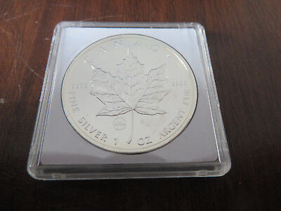 1 Unze Silber 2009 5 Dollars Maple Leaf Privy Golden Gate Bridge