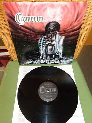 Comecon- Megatrends In Brutality- Vinyl LP- 1992- Germany