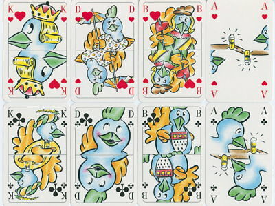 Spielkarten playing cards Sonderbild Jeu de cartes Altenburg Bierwerbung um 1998