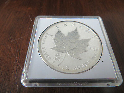 1 Unze Silber 2012 5 Dollars Maple Leaf Privy Drache