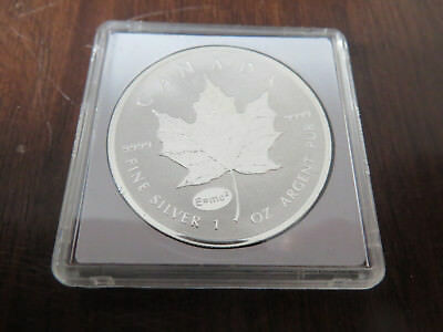 1 Unze Silber 2015 5 Dollars Maple Leaf Privy E=mc²