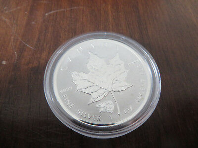 1 Unze Silber 2016 5 Dollars Maple Leaf Privy Grizzly