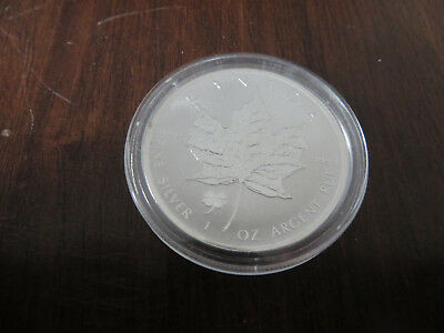 1 Unze Silber 2016 5 Dollars Maple Leaf Privy Kleeblatt