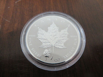 1 Unze Silber 2016 5 Dollars Maple Leaf Privy Panda