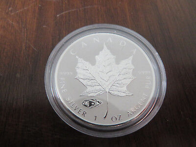 1 Unze Silber 2016 5 Dollars Maple Leaf Privy Tank