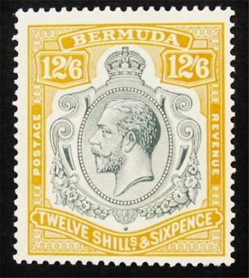 nystamps British Bermuda Stamp # 97 Mint OG H $300