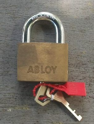 Large Abloy Heavy Duty High Security Padlock Locksmith Lock Finland with two key