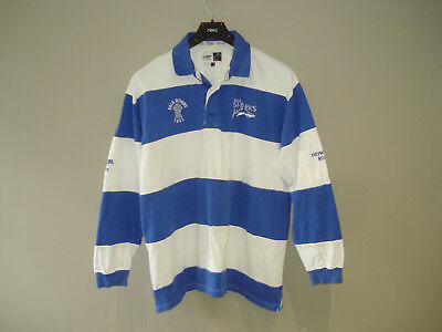 vtg SALE SHARKS cotton traders RUGBY UNION SHIRT JERSEY xxl 2XL LONG SLEEVED