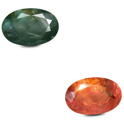 0.59 ct Oval (6 x 4 mm) Un-Heated Color Change Alexandrite Loose Gemstone