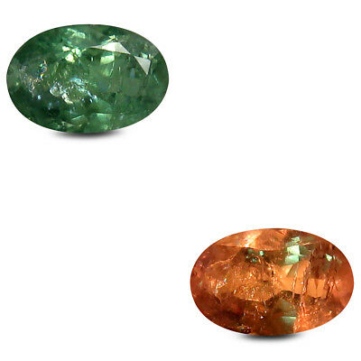 0.59 ct Incredible Oval (6x4mm) Unheated Color Change Alexandrite Loose Gemstone