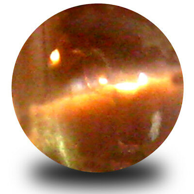 0.39 ct Oval (5x4mm) Un-Heated Color Change Alexandrite Cat's Eye Loose Gemstone