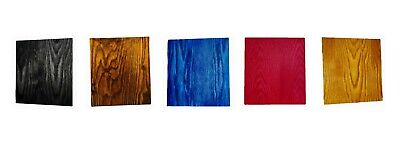 Keda Dye Wood Stain Kit 5 Wood Paint Stain Colors For Custom Wood Finishes