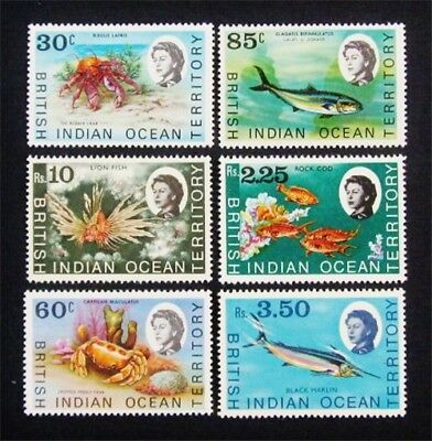 nystamps British Indian Ocean Territory Stamp # 21 // 33 Mint OG H $40