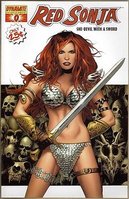 Red Sonja #0 - VF/NM - Land Cover