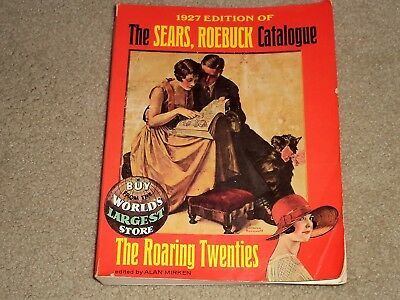 1927 Sears Roebuck Catalog 1000+ Pages Of Great Christmas Toys, Fashions Reprint