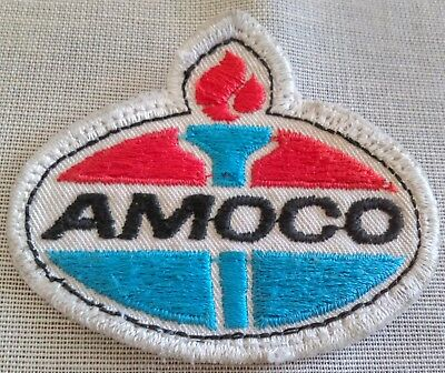 Vintage Amoco Torch Patch For Shirt Or Jacket Gasoline Collectible Shop Worn