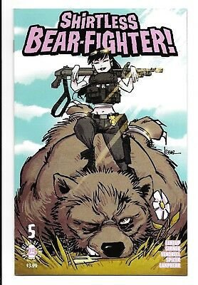 Shirtless Bear Fighter 5 Jesse James Comics Variant Limited to 500 Copies