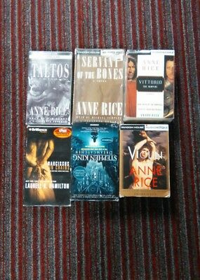 Audiobooks /books On Tapes Lot Of 6