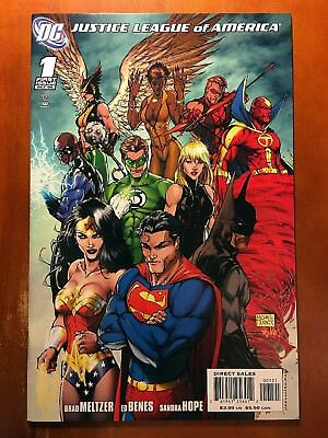 Justice League Of America #1 Nm- Vol Two Michael Turner 1:10 Retailer Variant!