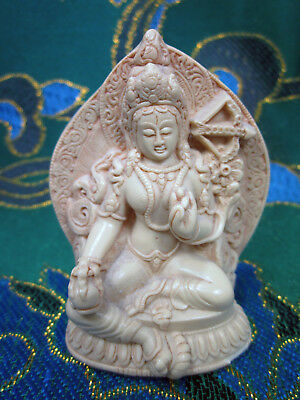 Detailed Red Tara Kurukulla Love Magic & Enchantment Tibetan Buddhist Statue Usa