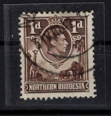 P60713/ NORTHERN RHODESIA / VARIETY / SG # 27ab USED CERTIFICATE 338 €