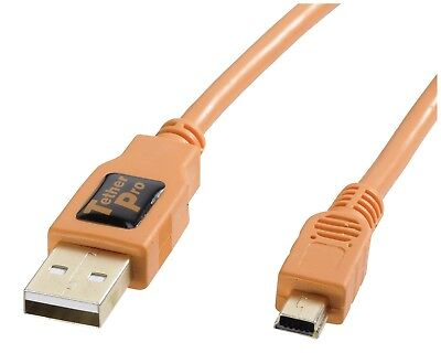 Studiozubehör Tethering Tether Tools TetherPro USB 2.0 A/MiniB 5 Pin 4,6m orange