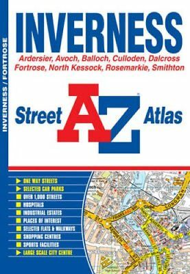 Inverness Street Atlas by Geographers' A-Z Map Company 9781843487074