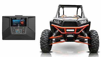 2014-2018 Polaris RZR Bluetooth Receiver w/ AM/FM/WB/SiriusXM+Dash Install Kit