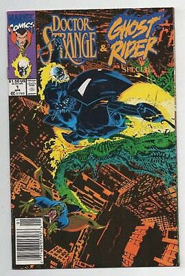 Marvel Comics Doctor Strange & Ghost Rider Special #1 Copper Age