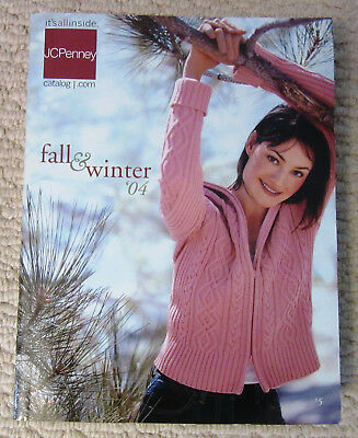 2004 JC Penney Fall & Winter Catalog, 1175 Pages, Great Fashions & Home Decor!