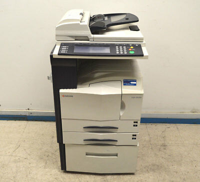 Kyocera KM-3035 Scan Fax Print Copier 2-Tray Bypass Network(untested) Dual-Sided