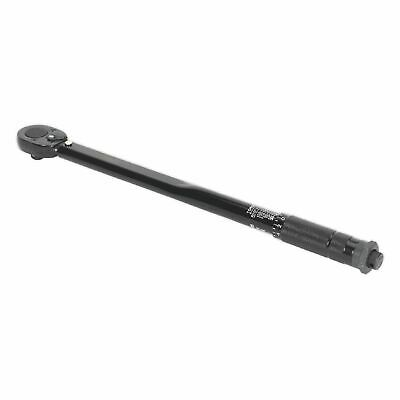 "SEALEY AK624B Micrometer Torque Wrench 1/2""Sq Drive Calibrated Black Series"