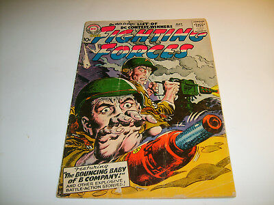 DC Our Fighting Forces  #21  GD/VG  1957  10-cent cvr