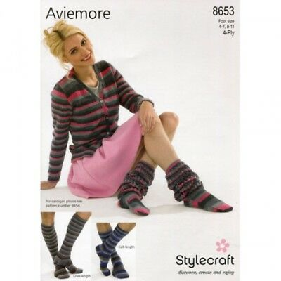 afe50b70f527c STYLECRAFT FAMILY SOCKS Knitting Pattern 8653 4 Ply (SCP-8653) - EUR ...