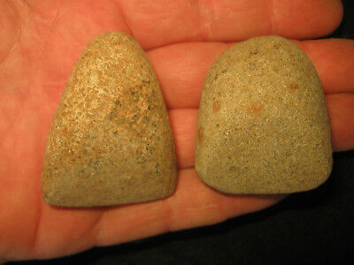 2 NICE Sahara Desert Neolithic Celts, Ancient African Artifacts 2000 - 7000 B.P.