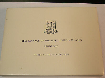 First Coinage Of The British Virgin Islands Proof Set Minted At Franklin Mint