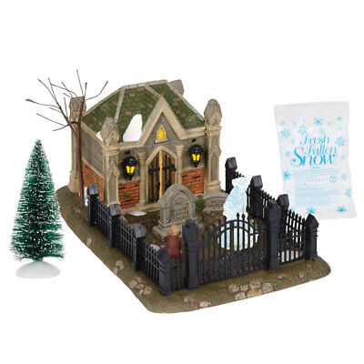 Department 56 Dickens 6000601 Christmas Carol Cemetery Set 2018