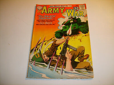 DC Our Army At War #117  VG 12-cent Cvr   Ist app Sgt Mule    1962