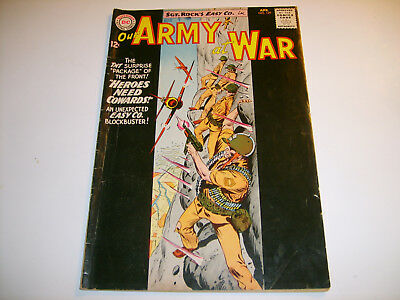 DC Our Army At War #129  FN 12-cent Cvr  1963