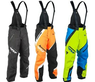 Fly Racing Adult SNX Snowmobile Pants Snow Bibs All Colors S-2XL