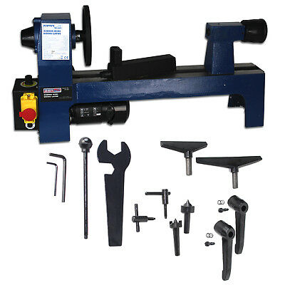 Sealey SM1307 330mm Wood Turning Mini Lathe - Variable Speeds - Woodworking Tool