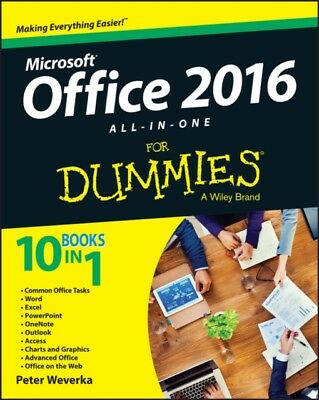 Office 2016 All-in-One For Dummies (Office All-in-One for Dummies...