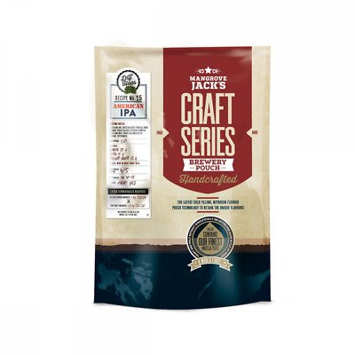 Mangrove Jacks Craft Series Home Brew Beer Making Kit Refill Pouch American IPA