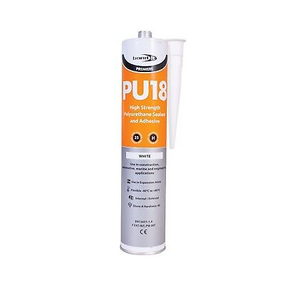 White High Strengh Polyurethane Adhesive & Sealant Pu18 Marine Koi Fish Pond