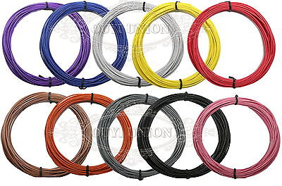 Electrical Stranded Equipment Wire Cable 18AWG~ 28AWG Cord Hook-up DIY 10-100M