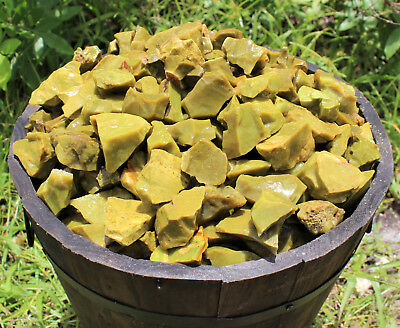 500 Carat Lot Natural Rough Green Opal (Crystal Raw Stone Rocks, 100 Grams)