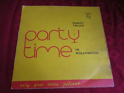 LP SWEET TALKS Party Time in Hollywood 1st/p PHILIPS GHANA 1978