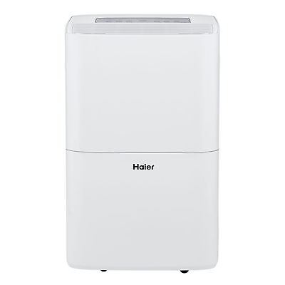 Haier Energy Star 70-Pint 2 Speed 1500 SF Digital Low Temp Dehumidifier HEN70ETF