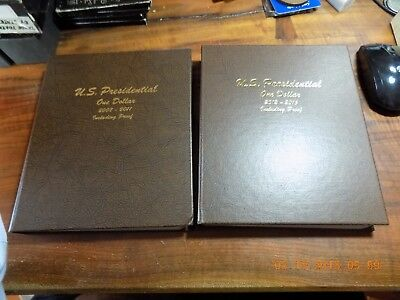 2007 to 2012 Presidential Dollar 72-Coin Set in Dansco Albums Gem BU's & Proofs